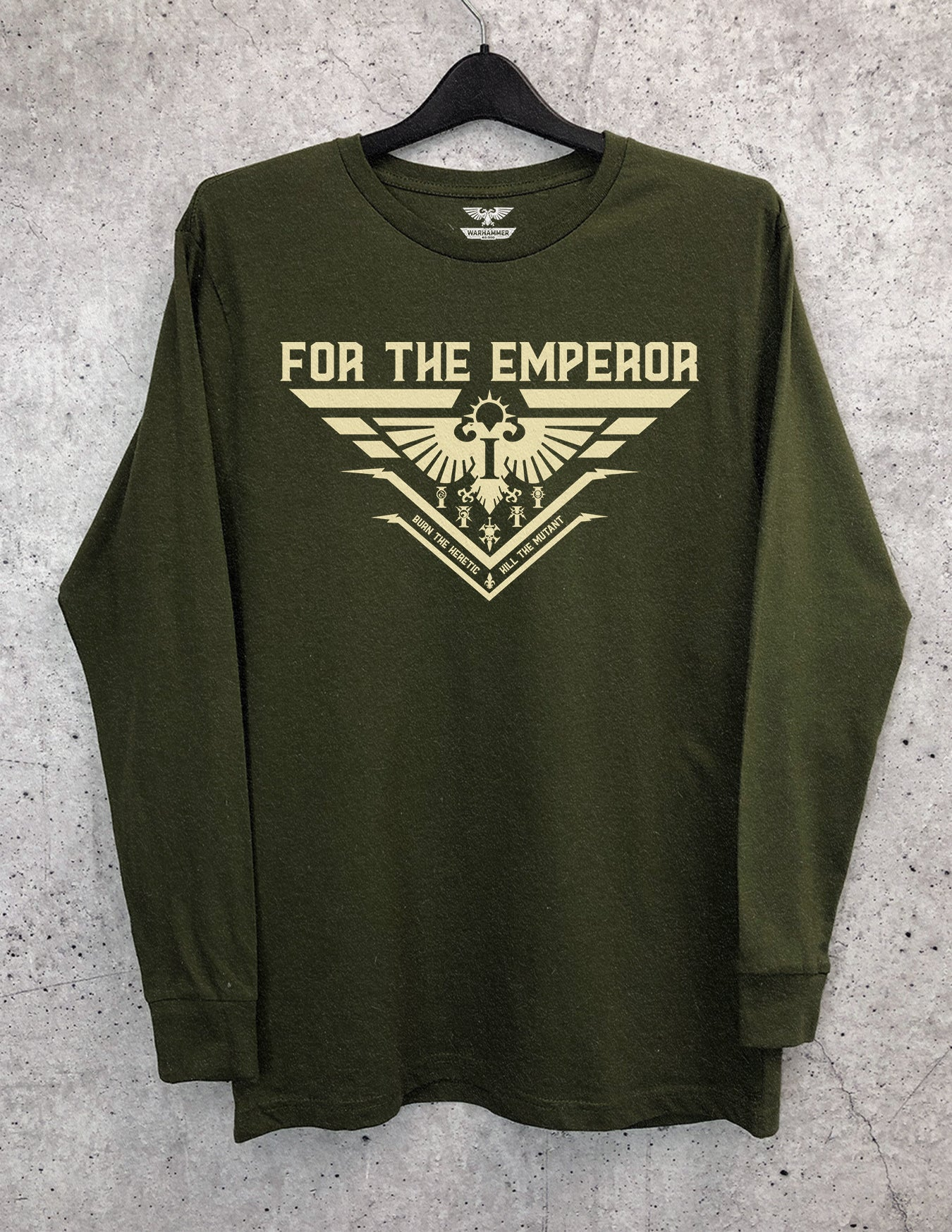 For The Emperor Long Sleeve Crewneck Tee