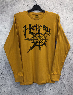 Heresy Long Sleeve Crewneck Tee