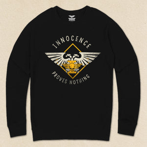 Innocence Proves Nothing French Terry Raglan Crewneck