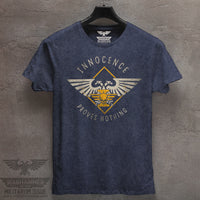 Innocence Proves Nothing Mineral Washed Tee