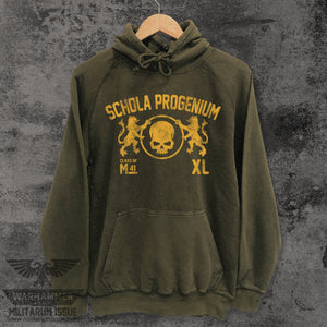 Schola Progenium Mineral Washed Hoodie