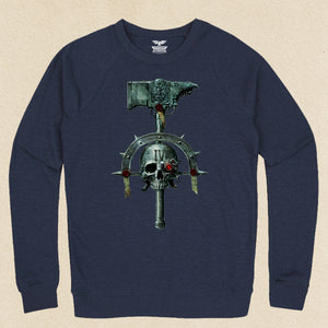 Space Marines French Terry Raglan Crewneck