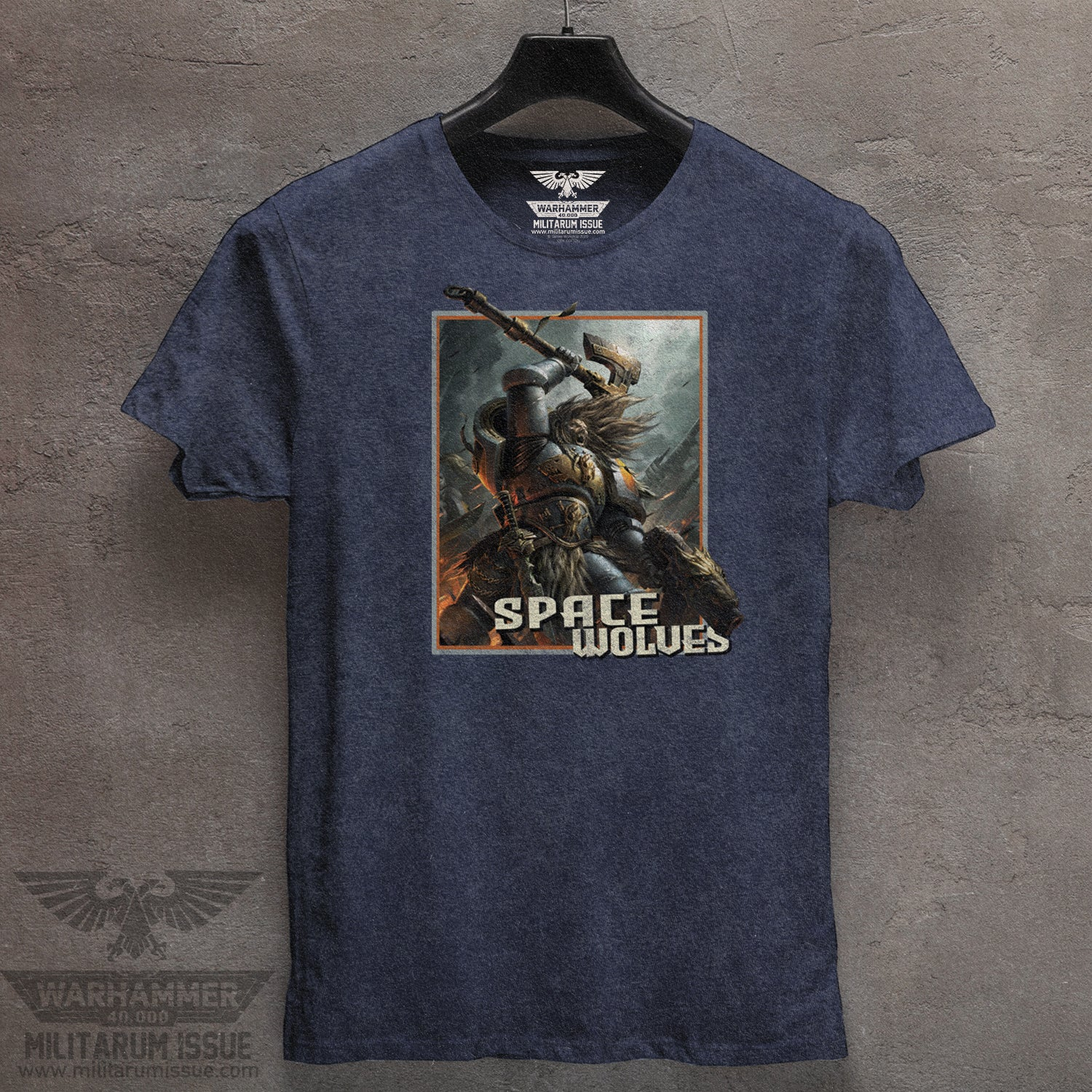 Space Wolves Mineral Washed Tee
