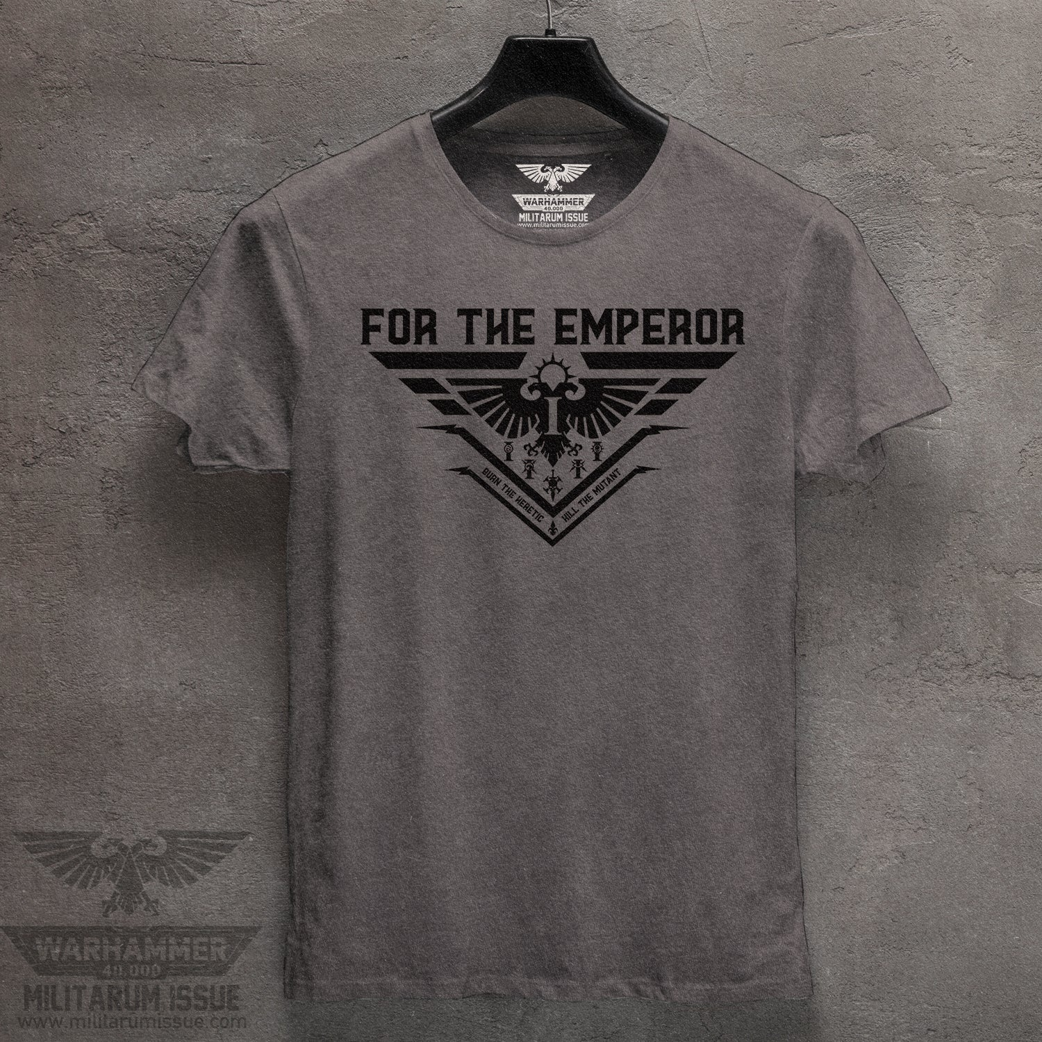 For The Emperor Mineral Washed Tee