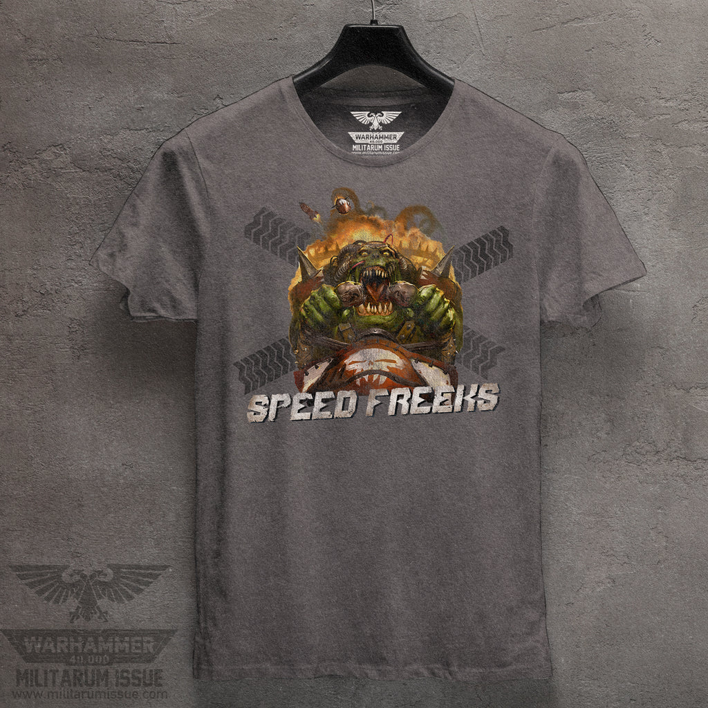 Speed Freaks Mineral Washed Tee