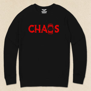 Chaos World Eaters French Terry Raglan Crewneck