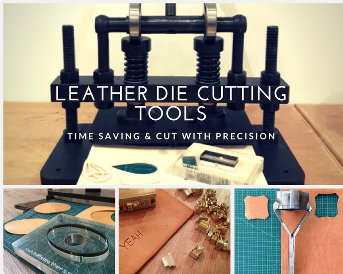 Leather Die Cutting Tools & 4 Leather Gift Ideas