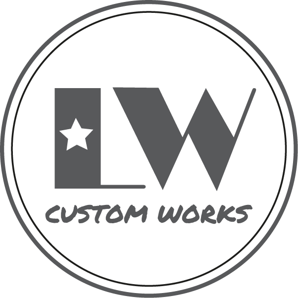 Custom Leather Stamp Stamping Leather Lw Custom Works