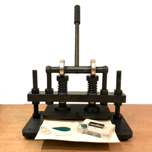 Die Cutting Press for leather cutting, embossing - Desktop Version