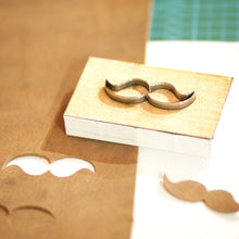 Leather Die Cut with wooden mount for leather cutting and paper cutting