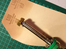 Custom Leather Stamp with Heat Embosser for heat embossing and leather stamping