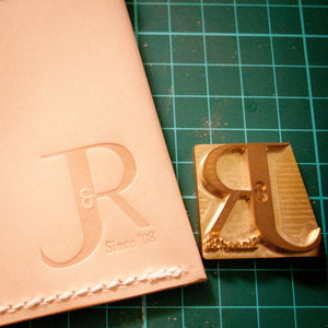 Custom Leather Stamp for leather embossing & leather stamping