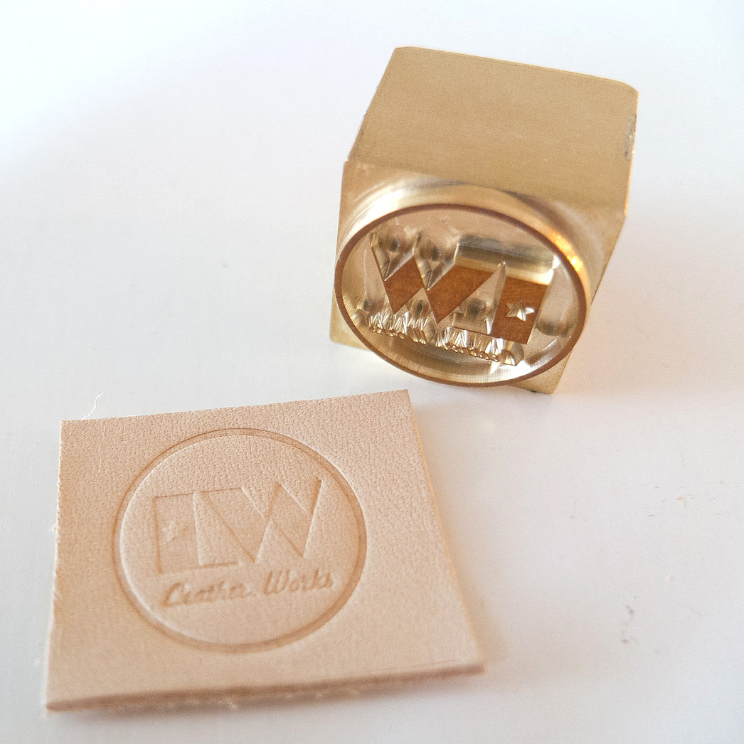 Custom Leather Stamp for Arbor Press for leather embossing
