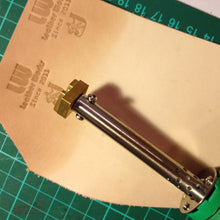 Leather Stamp with Heat Embosser for leather stamping, heat embossing, not gold foiling