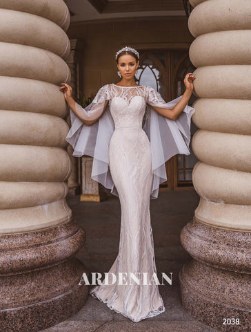 Wedding Dress Model 2038