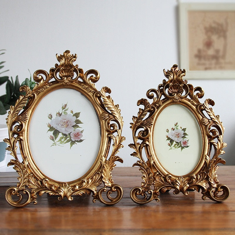 Luxury Baroque Style Gold Picture Frames