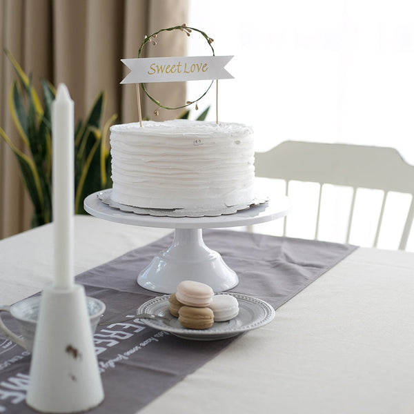 "Wedding Cake Stand 11"" (Multi-Color)"