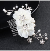 Gold/Silver Floral Hair Combs & Pins