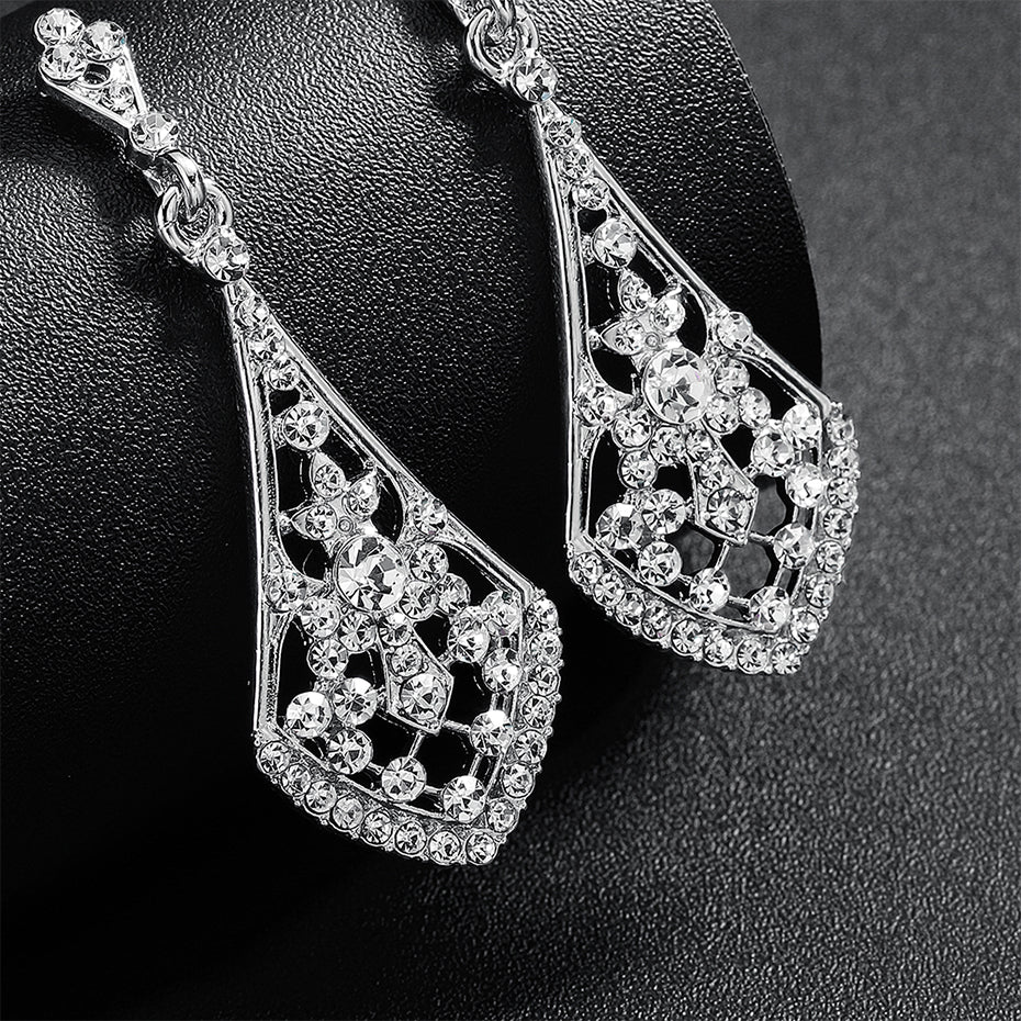 Angelina Wedding Earrings