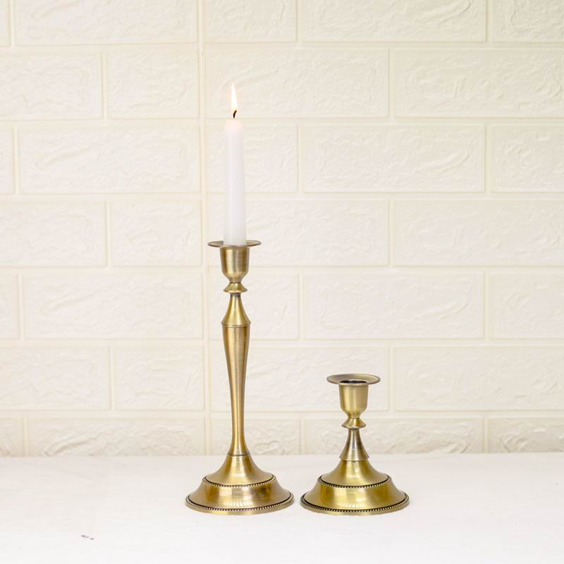 Bronze Wedding Candle Holder
