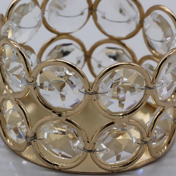 Gold Candle Holders (4 pieces/order)