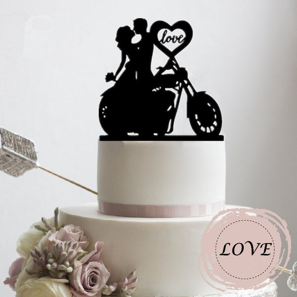 Romantic Couple Cake Topper