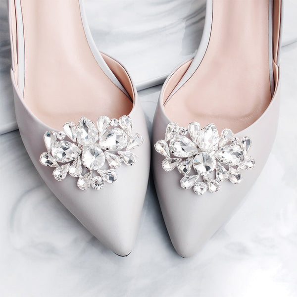 Rosalie Bridal Shoe Clips