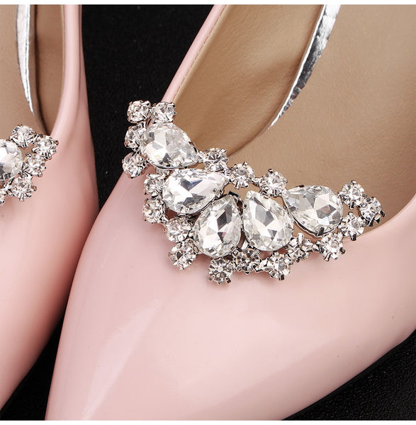 Ella Bridal Shoe Clips