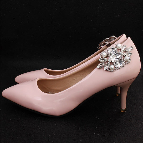 Lois Bridal Shoe Clips