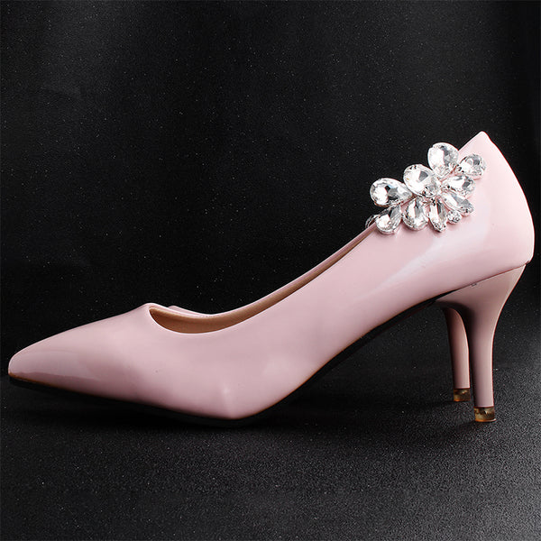 Zoe Bridal Shoe Clips