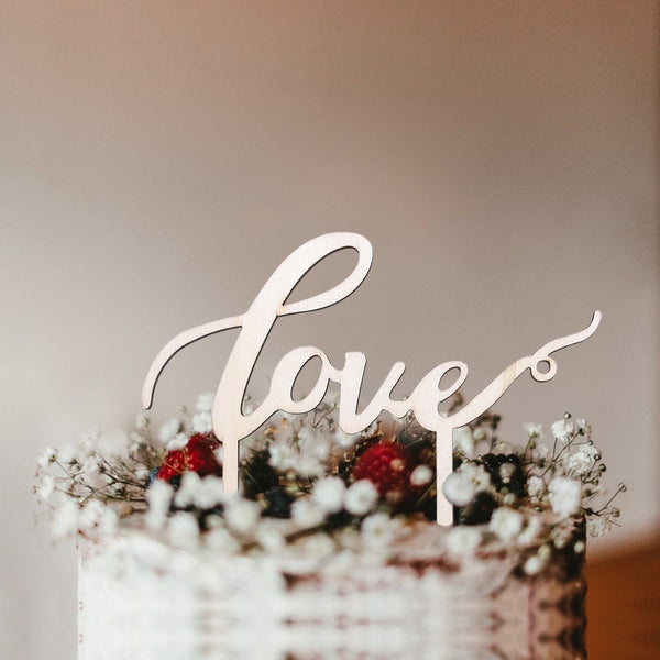 Wedding Cake Toppers (Multiple Styles)