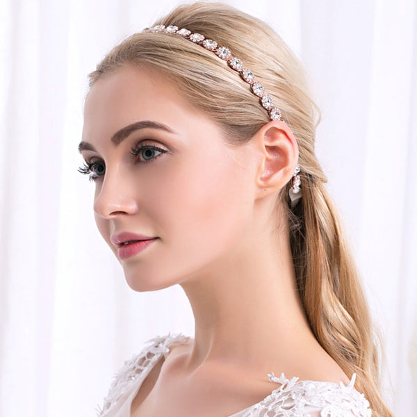 Rose Bridal Headbands
