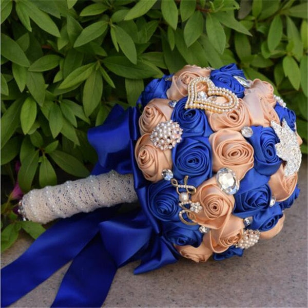 Elegant Wedding Bouquet (8-Colors)
