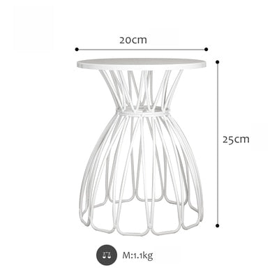 Black/White Wedding Cake Stand