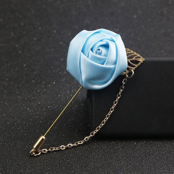 Wedding Boutonniere (18 Color Options)