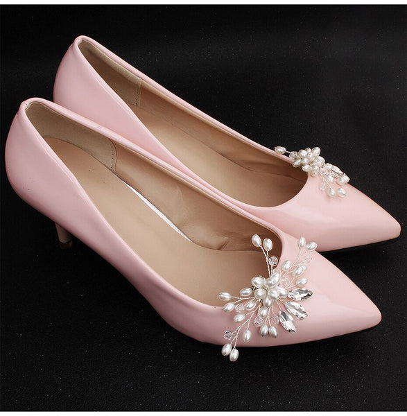 Jasmine Bridal Shoe Clips