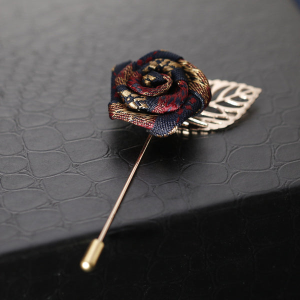 Vintage Rose Boutonniere (3-Styles)