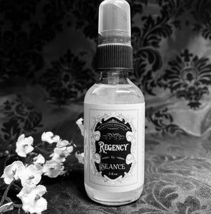 REGENCY SPRAY (tuberose, home made rose water, roses, and oud.)
