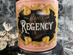 REGENCY CANDLE (:tuberose, home made rose water, roses, and oud.)