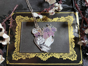 Mourning Bloom necklace