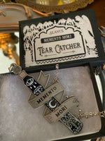 Tear Catcher necklace- Memento Mori