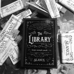 The Library- large sample pack (all scents)