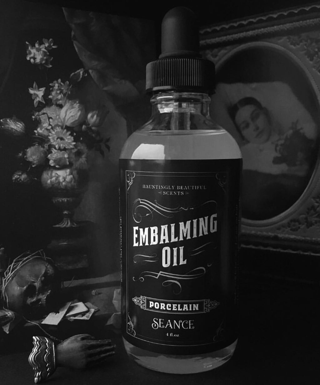 Porcelain Embalming Oil- (lotion oil)
