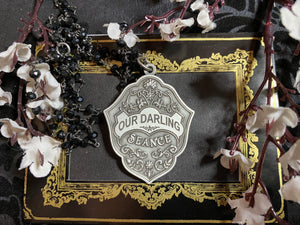 Our Darling Casket Plate necklace
