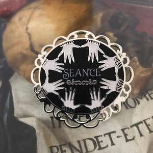 Seance Enamel Pin- Seance table