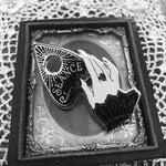 Seance Enamel Pin- Hand and Planchette