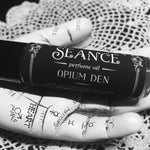 Opium Den (Frankincense and Myrrh, cream, orange blossom, cedarwood, patchouli)