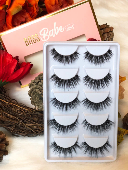 Slay The Day Set - Bossbabe Lashes