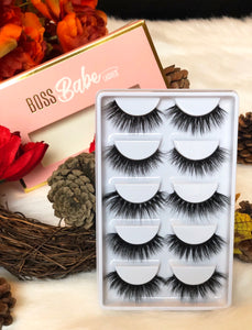 Hustler Never Sleeps Set - Bossbabe Lashes