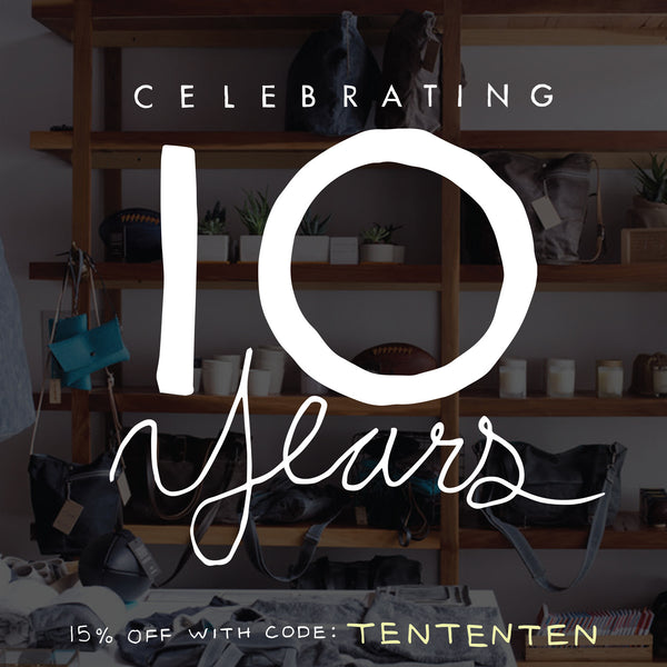NOW WE ARE TEN!! + A SALE!!
